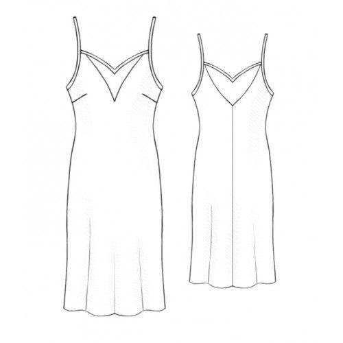 5200 Dress - Robe > Lekala