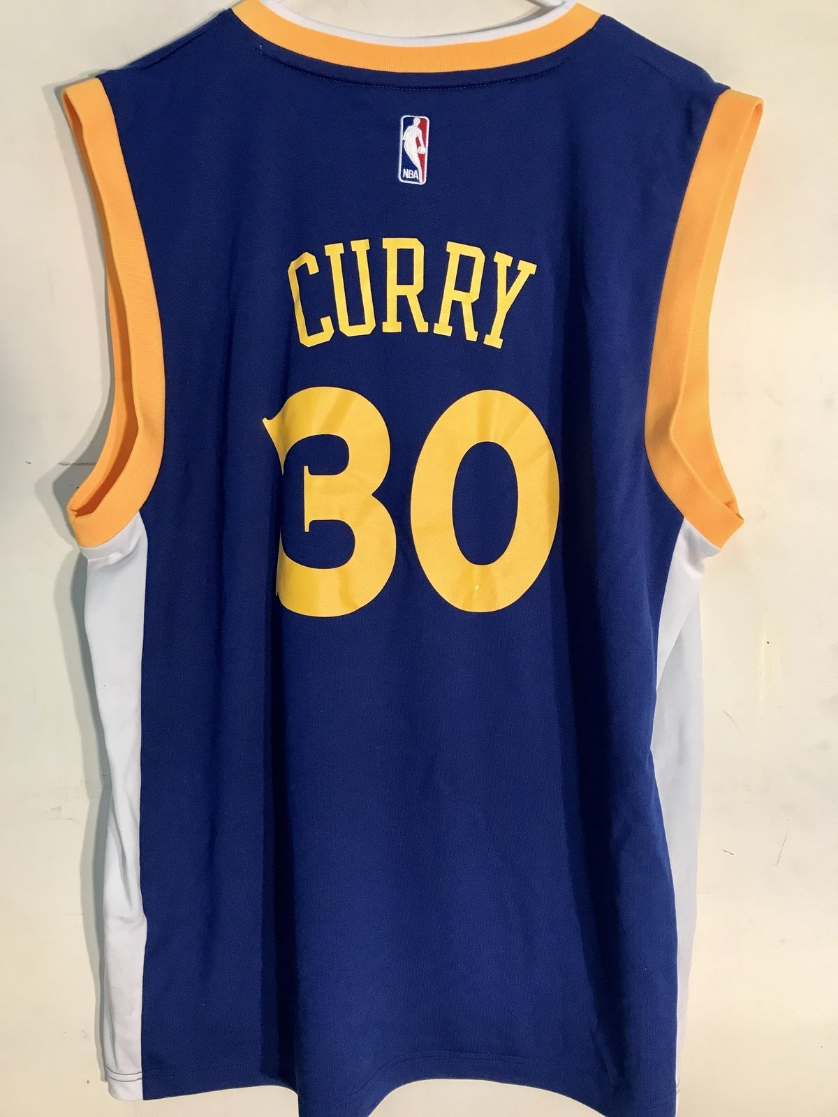 newest collection 4814d cbfb3 Adidas NBA Jersey Golden State Warriors Stephen Curry Blue ...