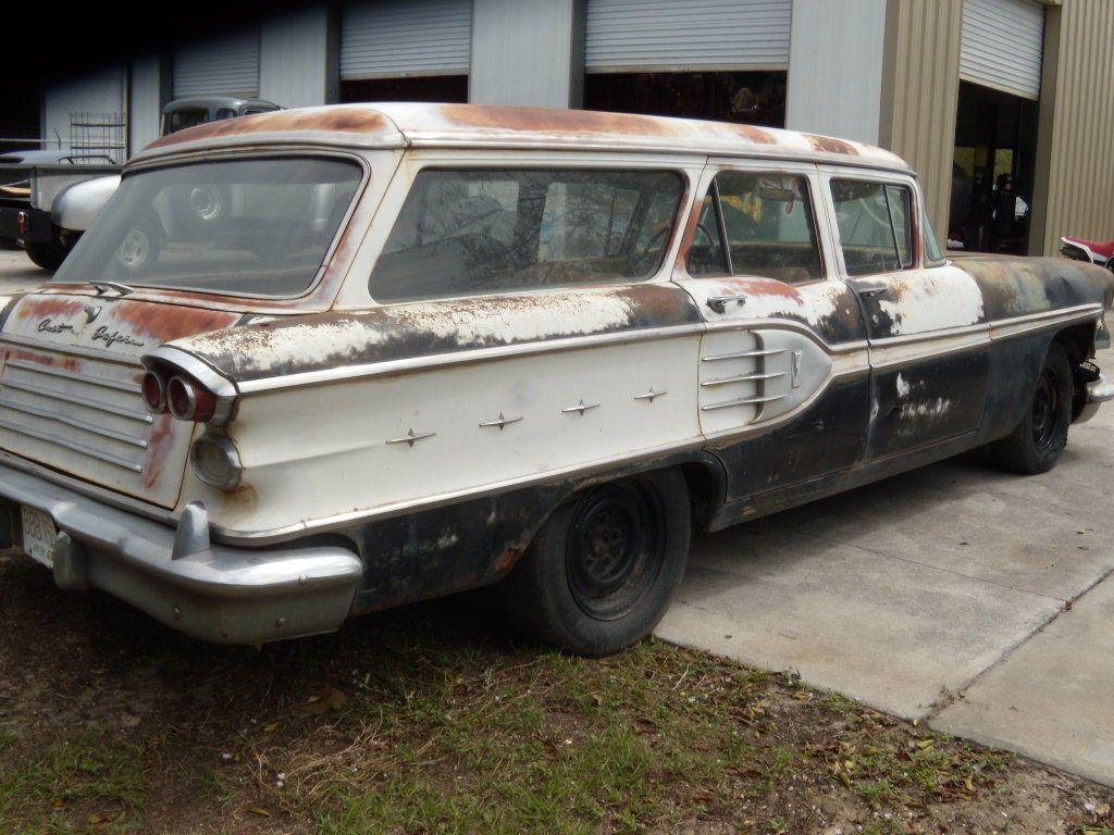 Pics photos 1958 pontiac for sale -  58 Pontiac Star Chief Station Wagon
