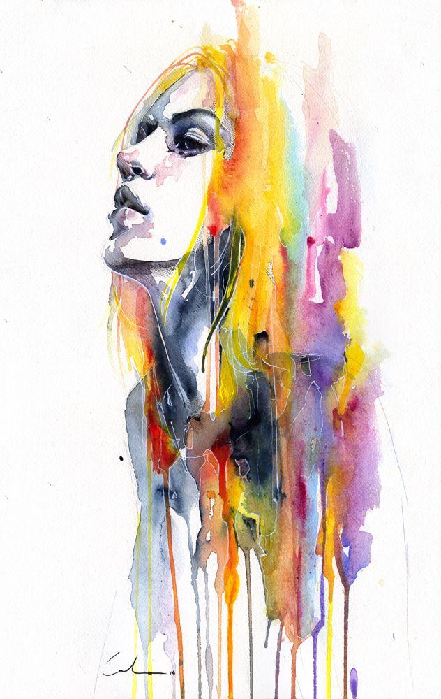 Sunshower Art Art Prints Portrait Art
