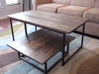 DIY Anthropologie coffee table