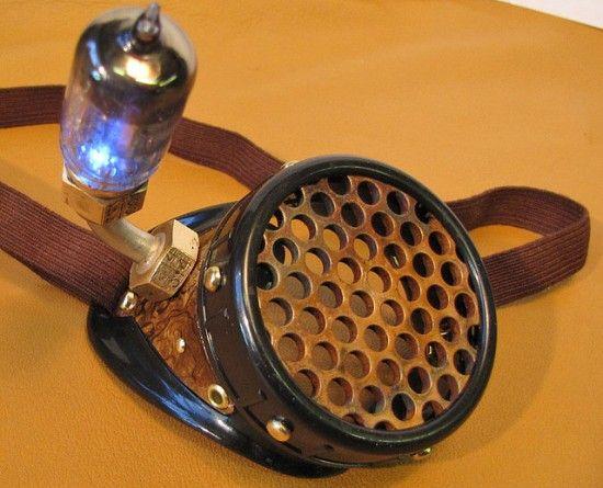 8 radio tube Twelve Astonishing Steampunk Monocles