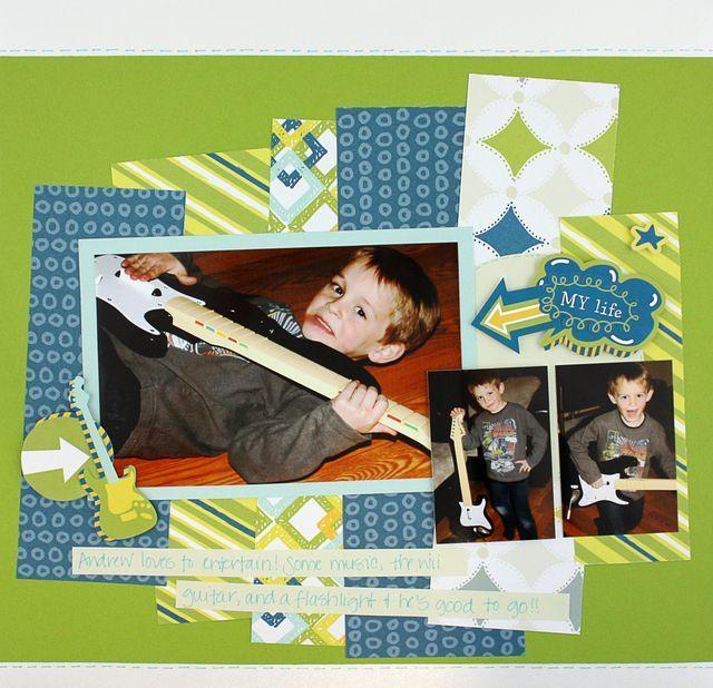 Pinterest Scrapbook Layouts For Boys Pinned By Julie Scrapbook