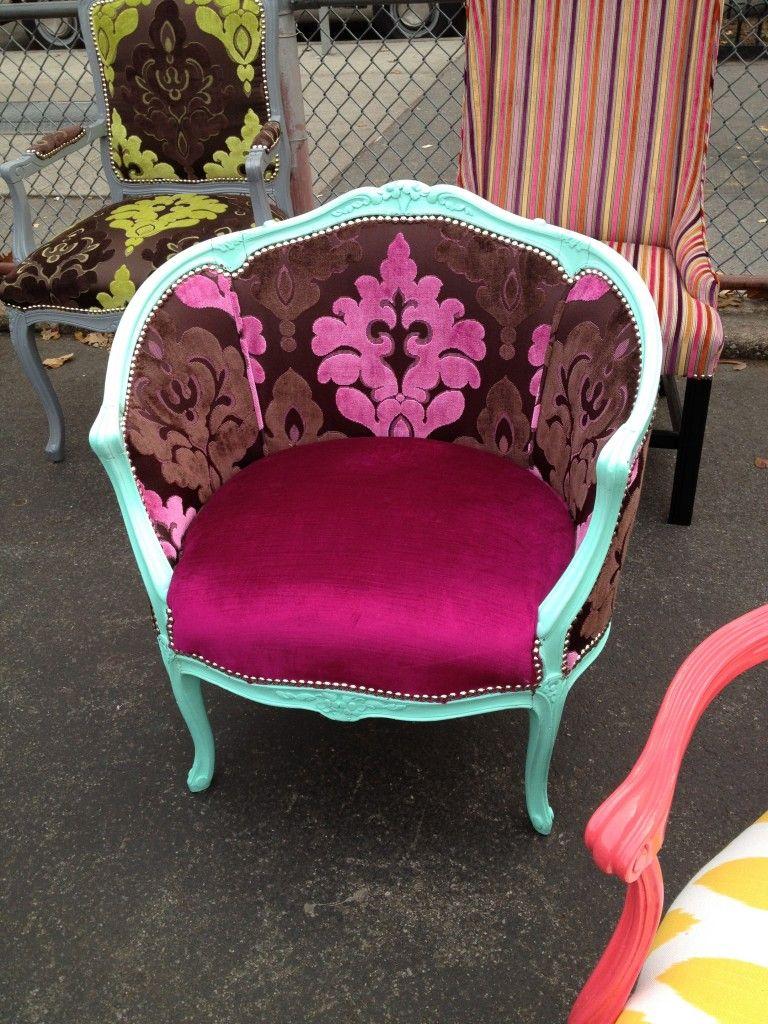 The Divine Chair # fuschia LUKE