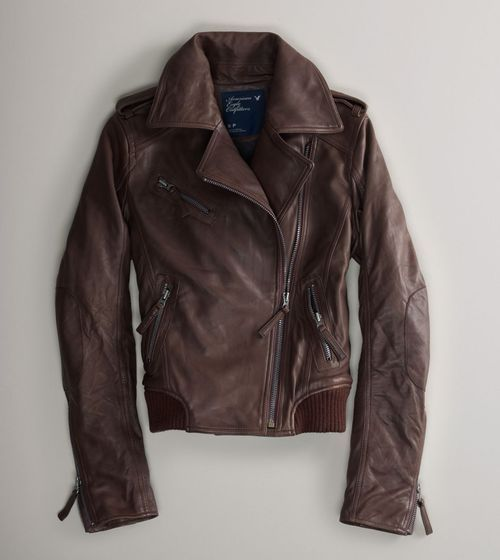 leather | Jackets, Brown leather bomber jacket, Fall jackets