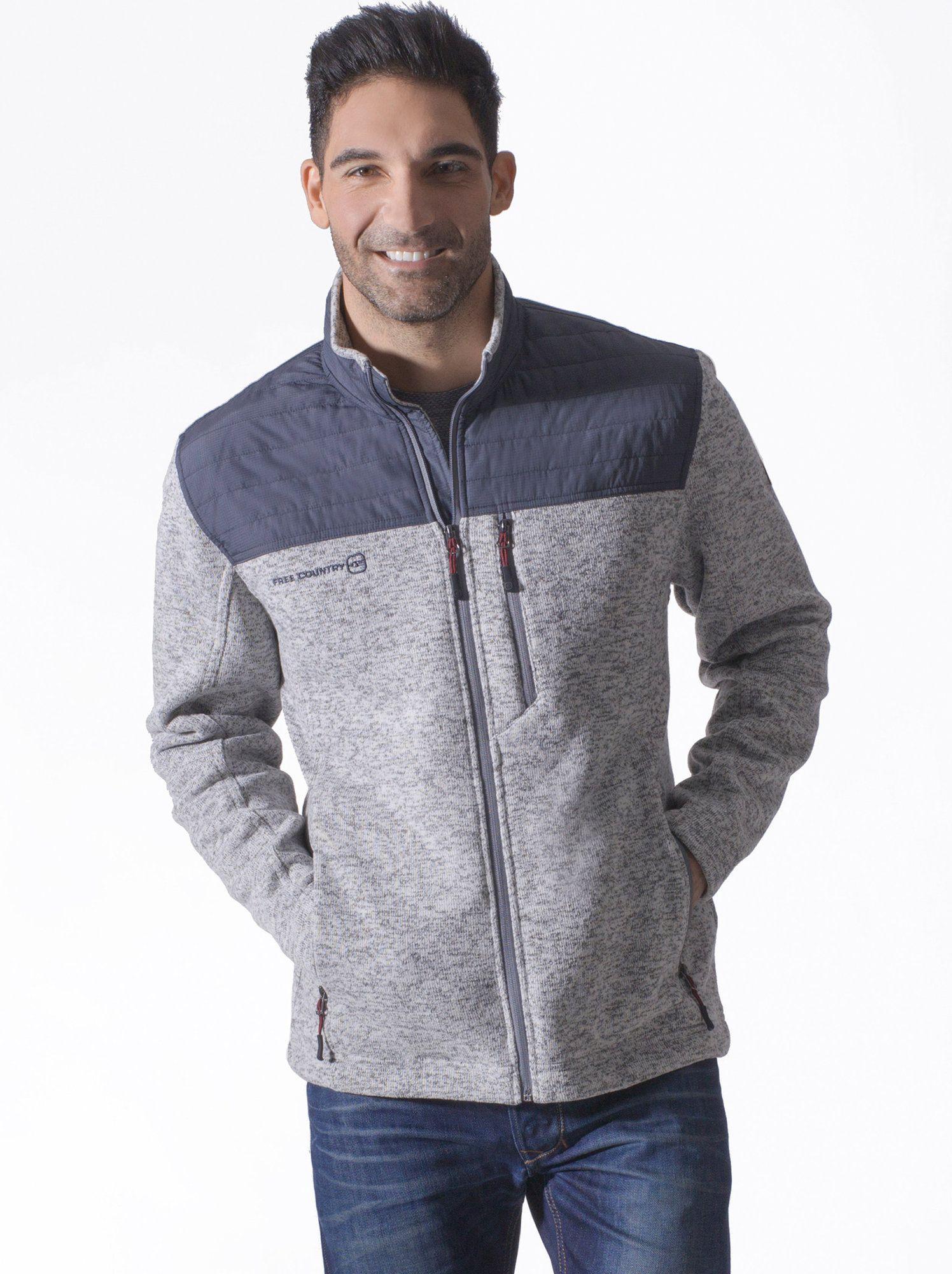 Men's Frore Sweater Knit Fleece - Free Country