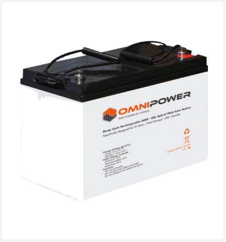 Omnipower 12v 120ah Agm Gel Solar Battery Solar Battery Solar Solar Wind