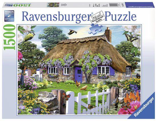 Ravensburger Cottage in Engeland - Puzzel van 1500 stukjes