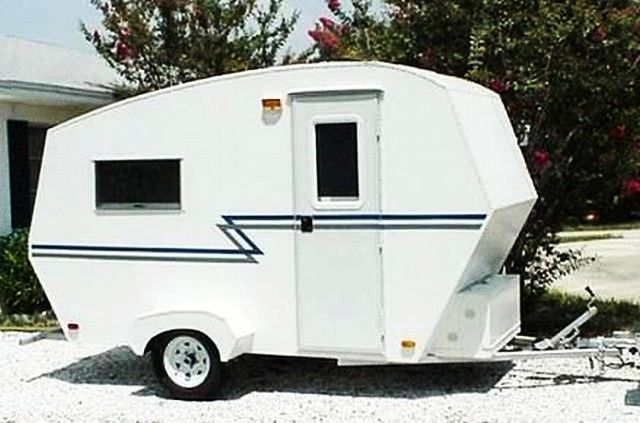 the squidget tiny travel trailer plans - Tiny Camping Trailers