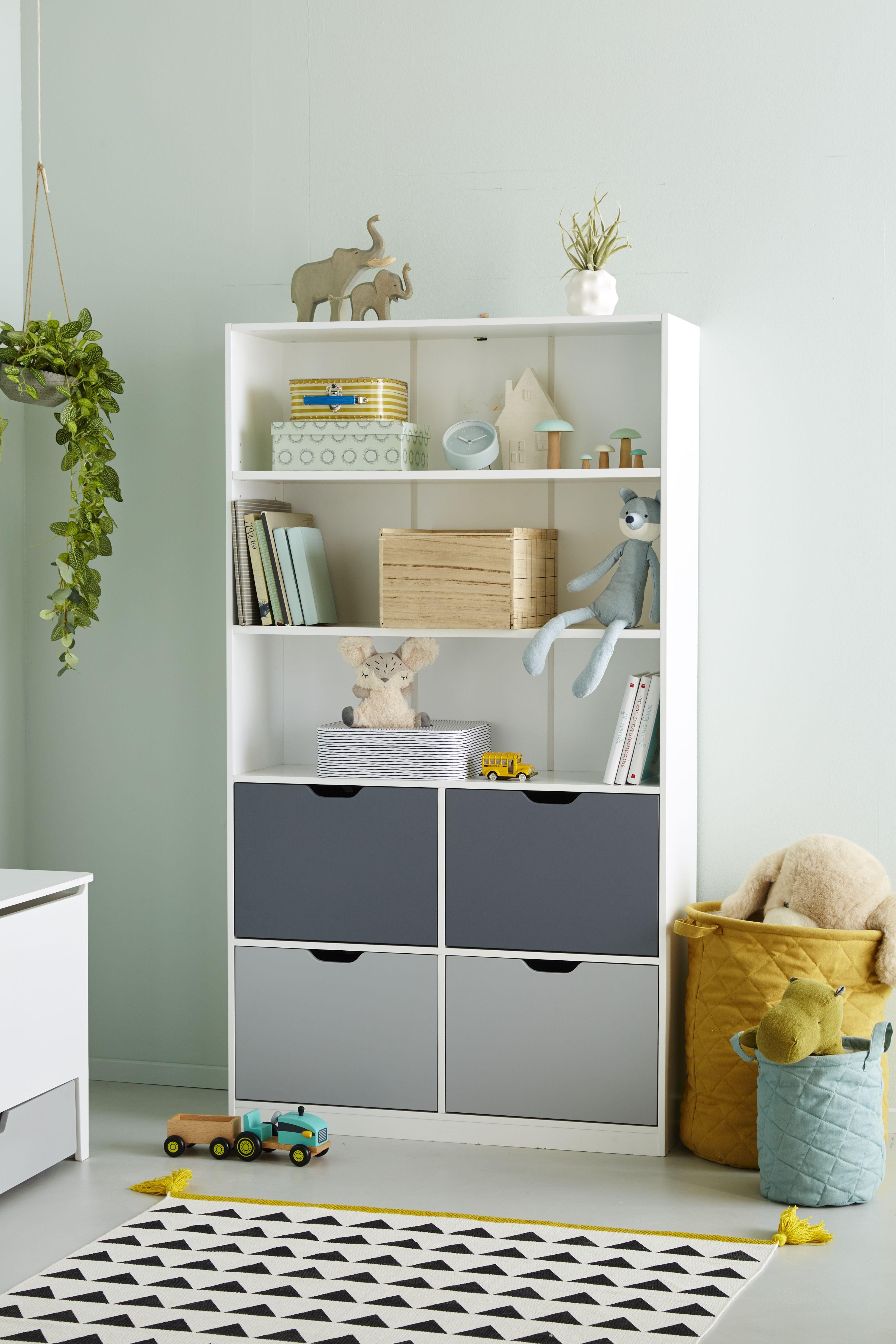 Etagere Bibliotheque Ligne Passe Passe Tricolore Vertbaudet Chambre Bebe Vertbaudet Idee Bibliotheque Bibliotheque Chambre Enfant