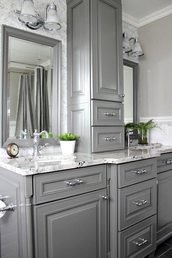 Best Gray And White Bathroom Ideas On Pinterest White - Cheap bathroom vanities under 100 us dollar for bathroom decor ideas