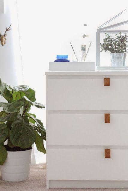 Cómo customizar la cómoda Malm de Ikea y que te quede de