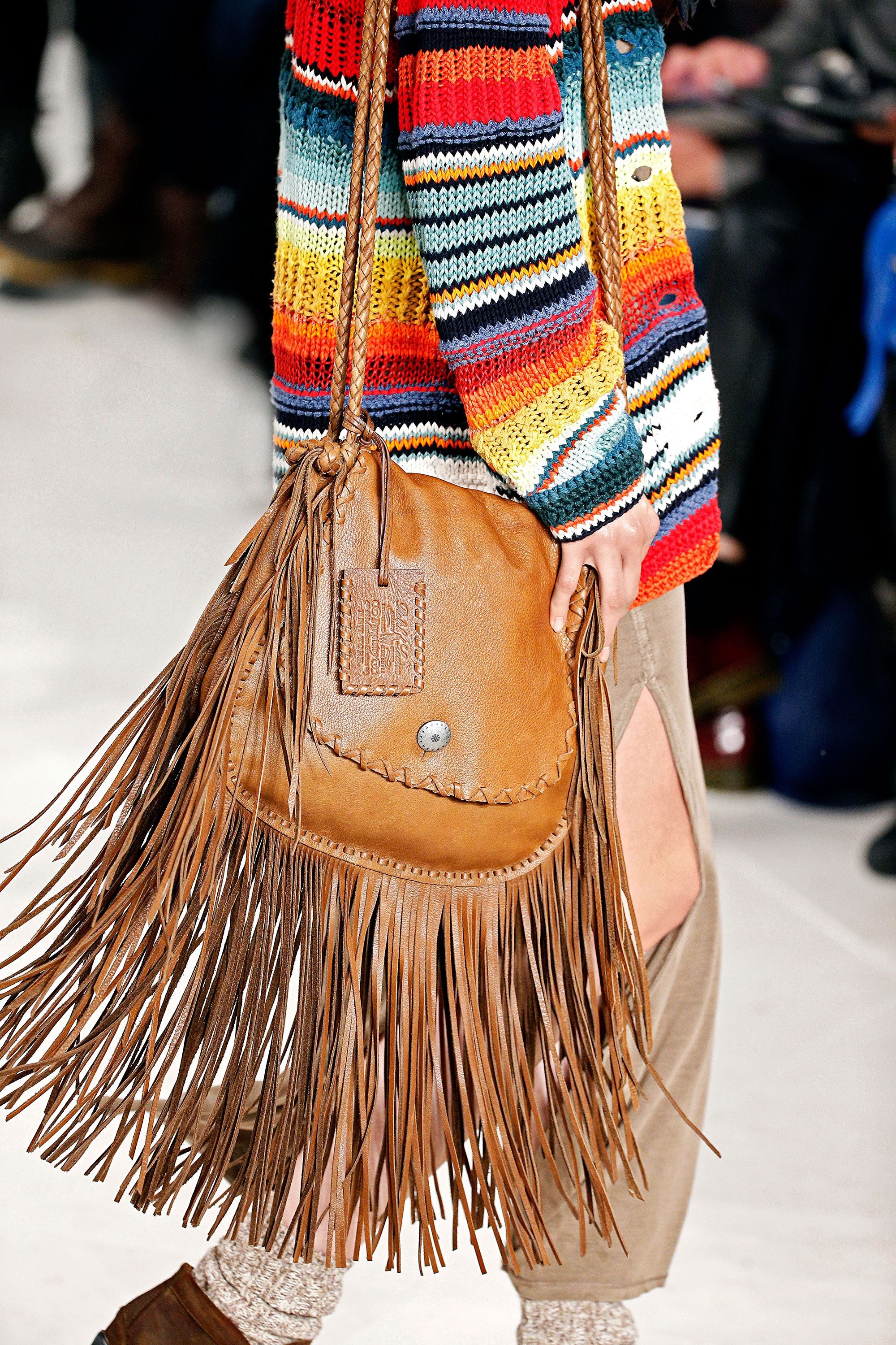 This Polo Ralph Lauren Fringed Messenger Bag Takes Boho Chic To A Whole New Level