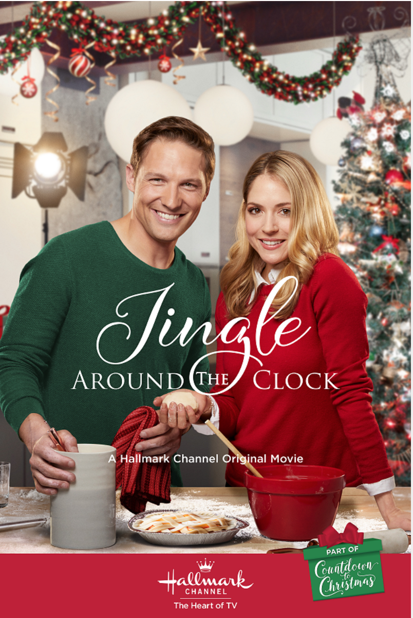 ^ Jingle Around the Clock (2018) with Brooke Nevin & Michael Cassidy | Christmas movies ...