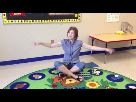 Criss Cross Applesauce Preschool Sitting Song - YouTube