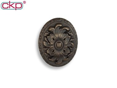 ckp brand chateau royale oval knob ancient bronze cool knobs and pulls