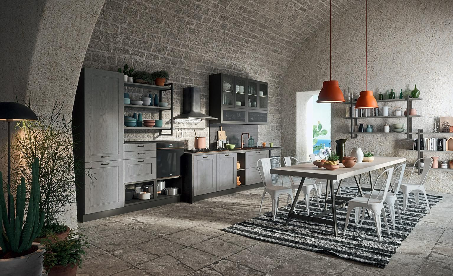 Contemporary Kitchen - La cucina in stile contemporaneo/arredomania ...