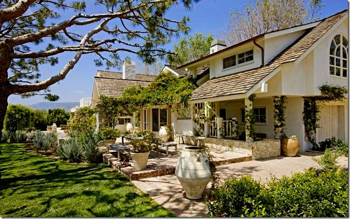 California ranch home style pictures