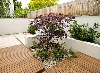 Modular Garden Design Example 12 Cool Courtyard Garden