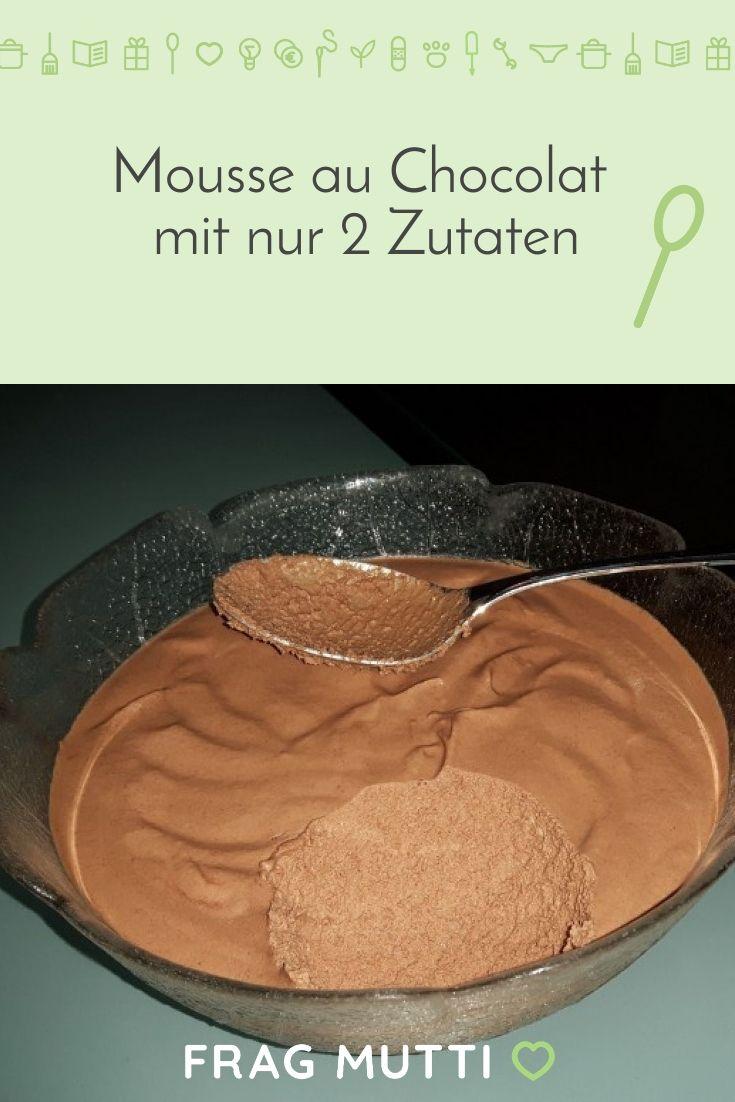 Leckere Mousse aus nur 2 Zutaten: Einfach und schnell
