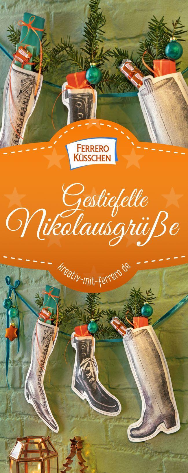 Photo of #Deko #DIY #Nikolausstiefel DIY Deko Nikolausstiefel Nikol