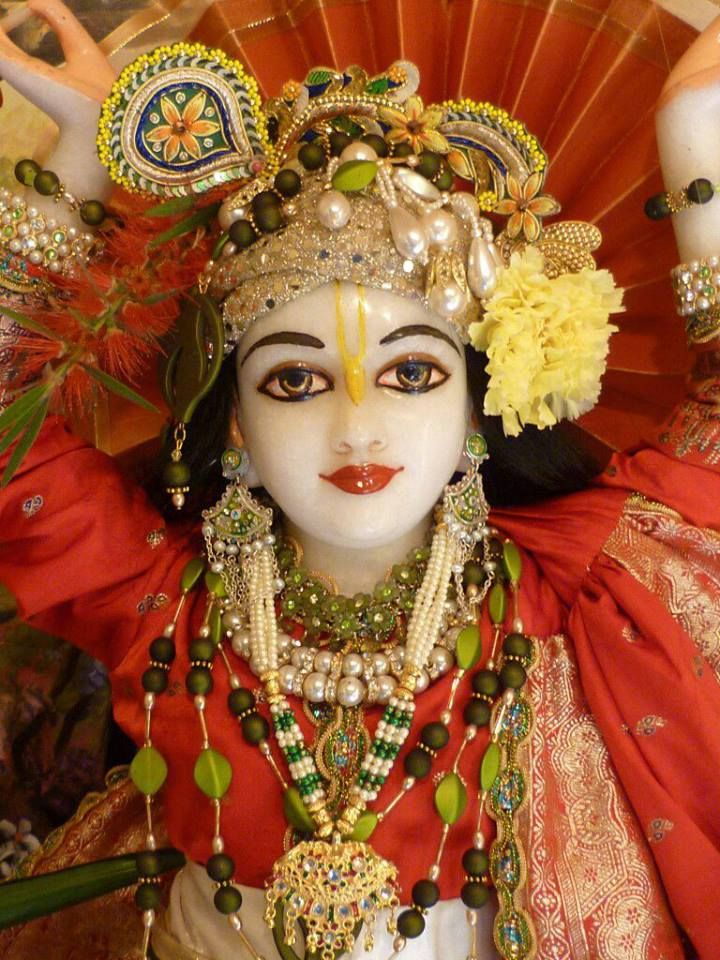 """O Name, stream down in moonlight on the lotus heart,  Opening its cup to knowledge of thyself.   O self, drown deep in the waves of his bliss.  Chanting his Name continually, Tasting his nectar at every step,   Bathing in his Name, that bath for weary souls.  In each and every Name thy power resides. No times are set, no rites are needful, For chanting of thy Name, So vast is thy mercy.""  -Sri Chaitanya"