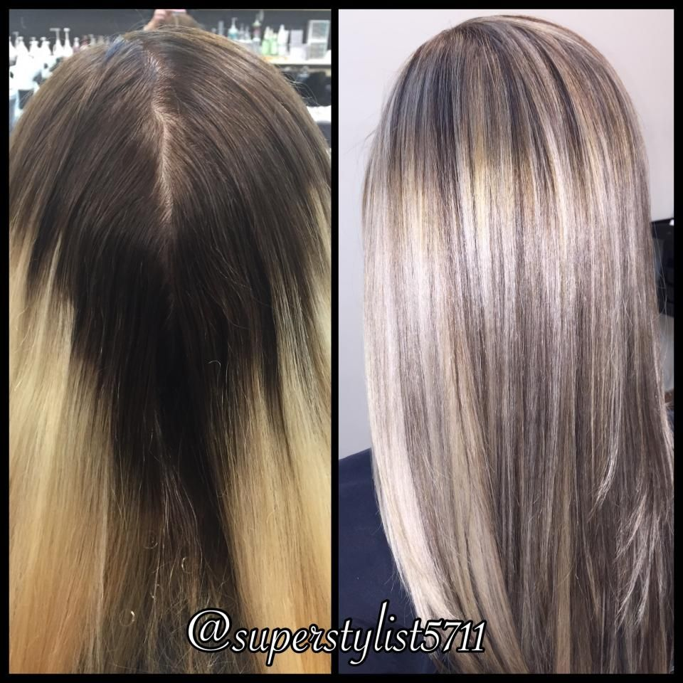 Color Correction Fixing A Messed Up Ombre Career Color