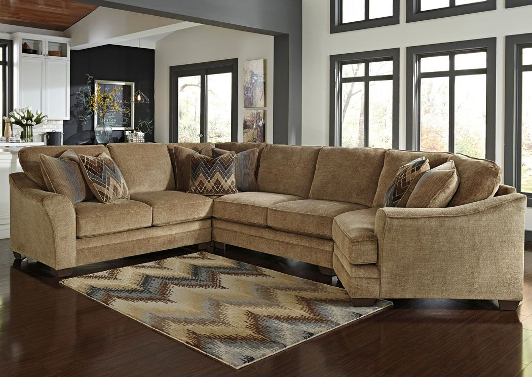 Lonsdale Barley Right Arm Facing Cuddler End Sectional ,Benchcraft