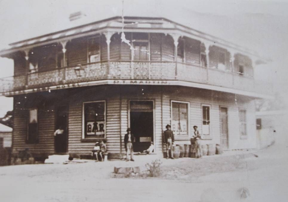 Miners Arms Hotel In Wallsend New South Wales Year Unknown