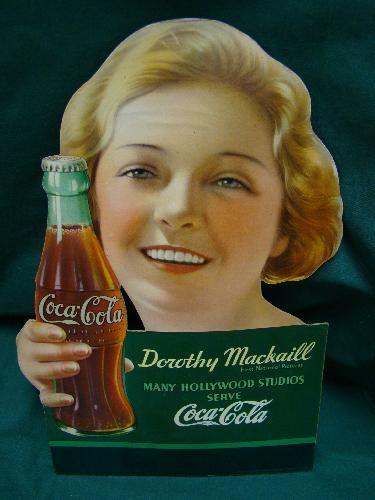 dorothy mackaill    coca cola