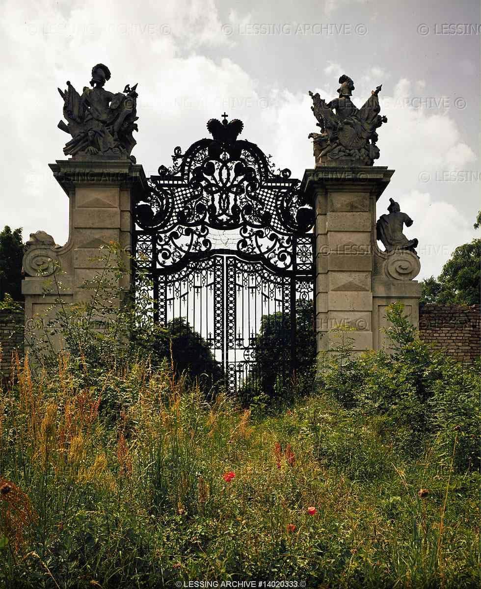 18th Century Entrance Gate Of Schlosshof, Lower Austria