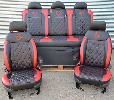 Captain Swivel Seats Camper Van Motorhome Vivaro T4t5 Transporter Diy Vw Transit 300 00 En 2020 Asientos De Coche Caravelle Vw Tapiceria Coche