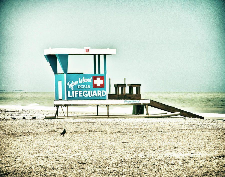 Tybee Island Lifeguard Station No 2 By Tammy Wetzel Lifeguard Tybee Island Lifeguard Tower