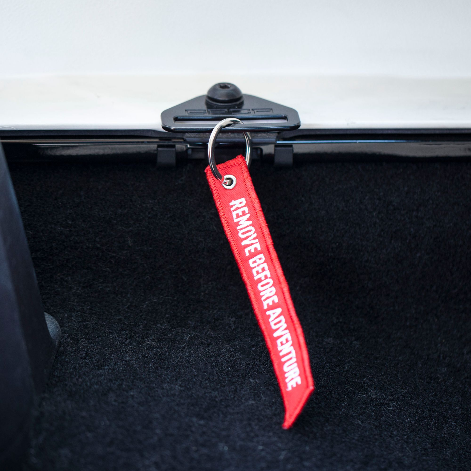 Remove Before Adventure Red Key Tag With Images Jeep Jl Best Camping Gear Solar Panel Charger