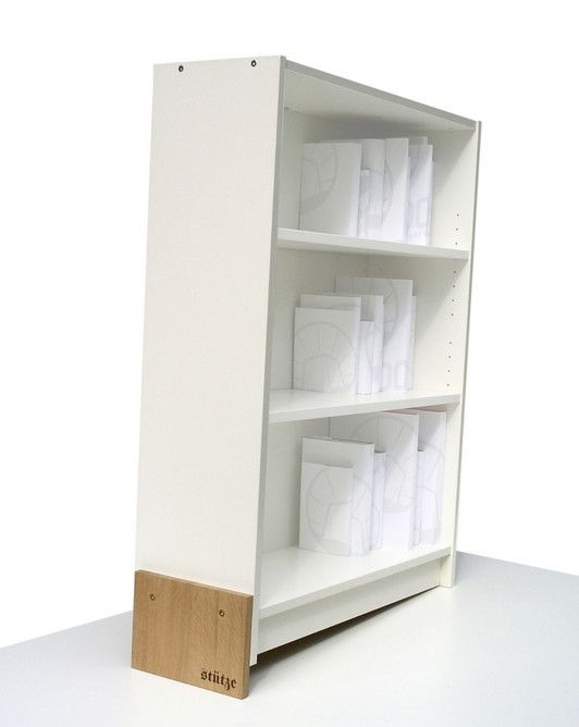 Pimp Ikea ikea billy bookcase modifier so no bookends are needed products to