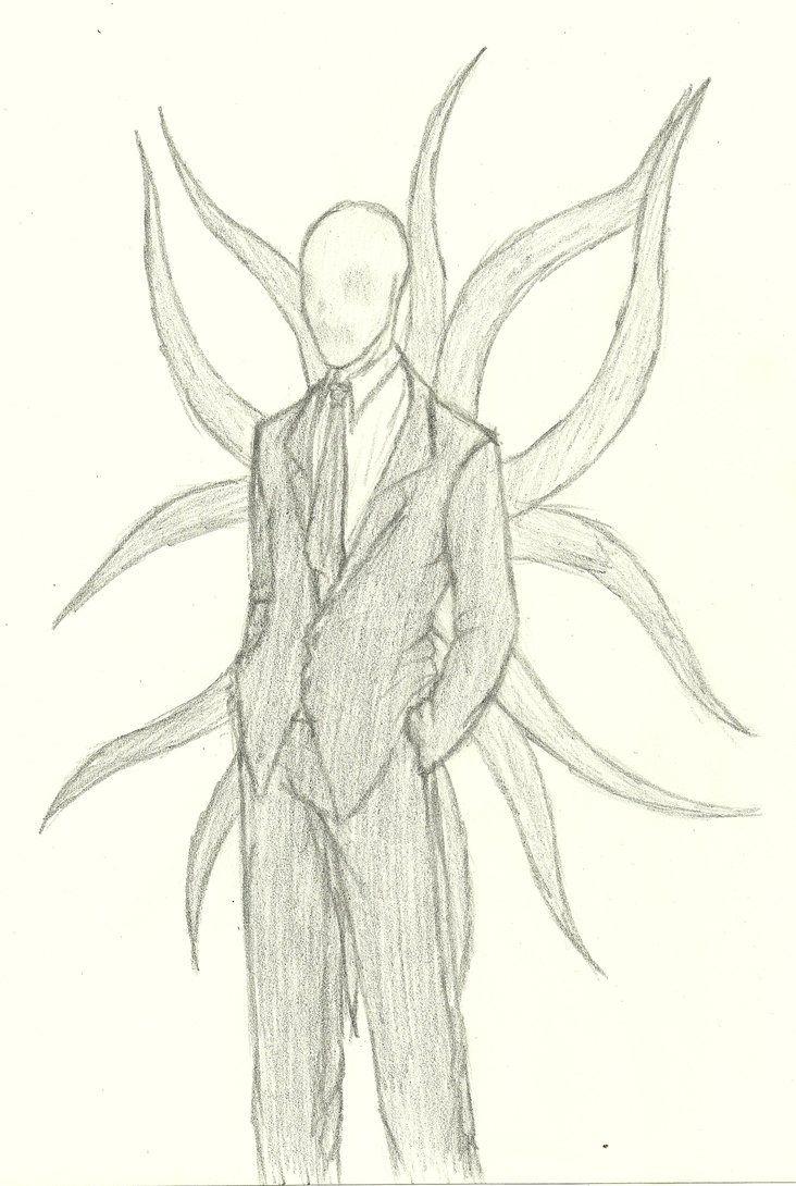 Topmodel Ausmalbilder Ohne Haare : Slender Man Drawings Scary Drawings Of Slender Man Slender Man By