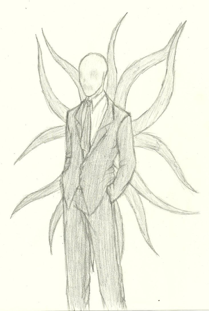 Slender Man Drawings Scary Drawings Of Slender Man Slender Man