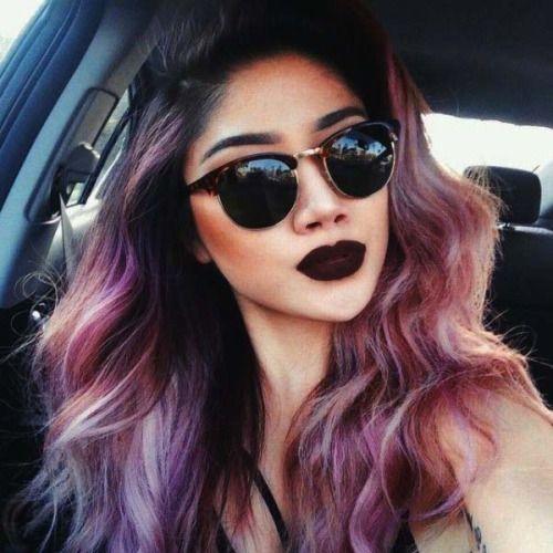 lip for pastel purple hair - Google Search