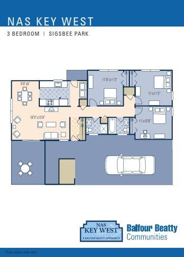Nas Key West Sigsbee Park Neighborhood 3 Bedroom Duplex