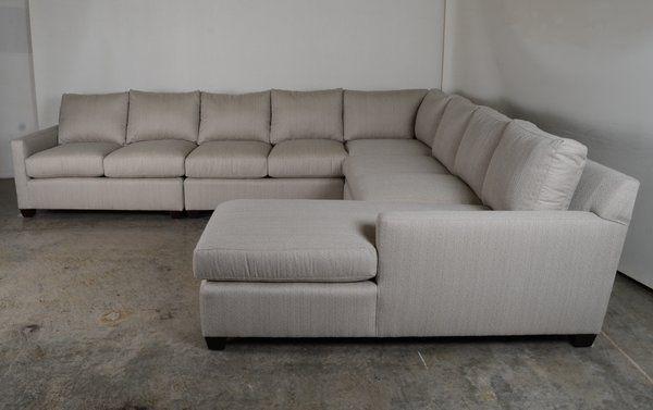 Our Brevard Sectional In Sunbrella Posh Ash Sofa Sofasectional