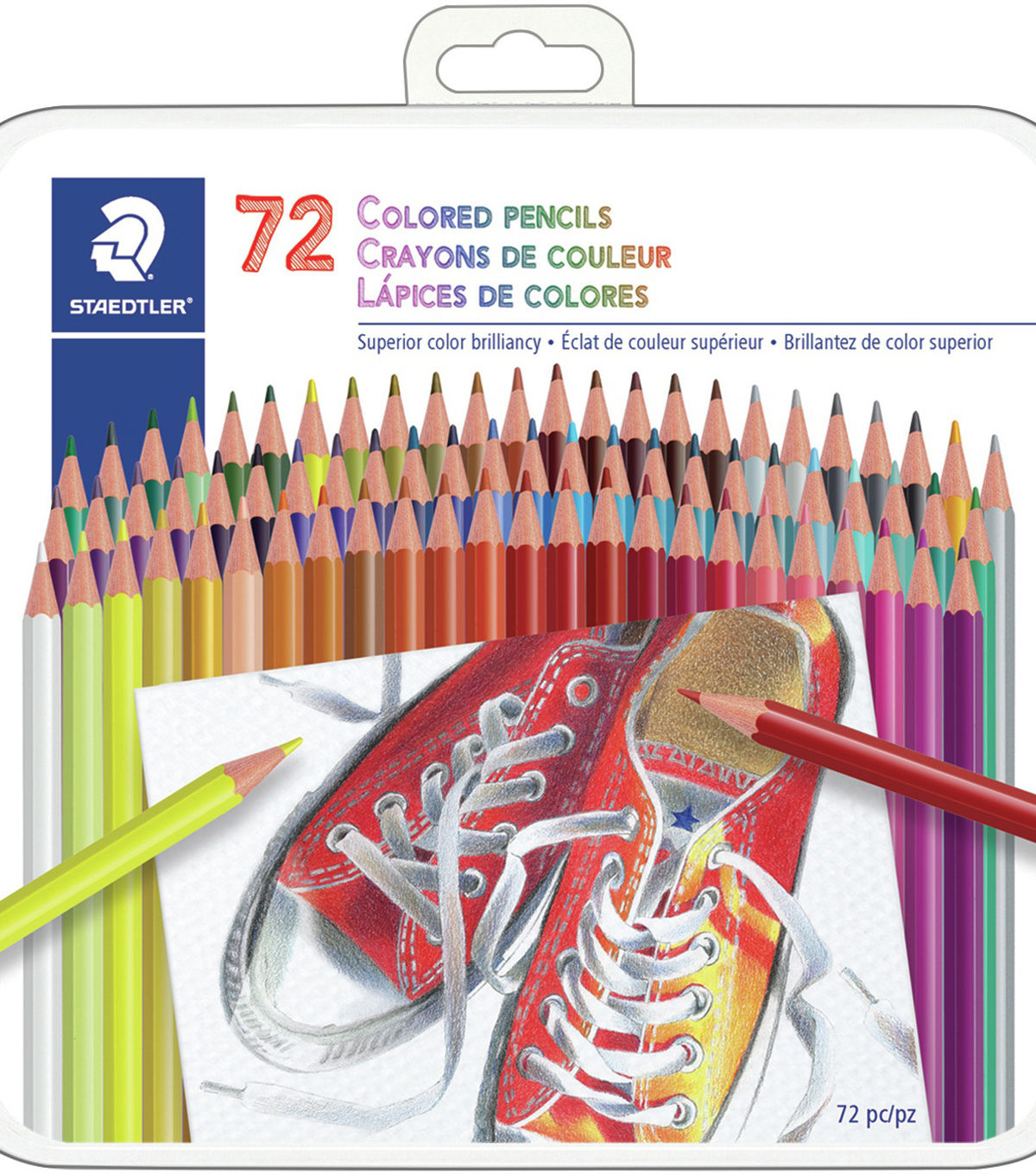 Staedtler Colored Pencils 72 Pkg Crayon Couleur Crayon De Couleur