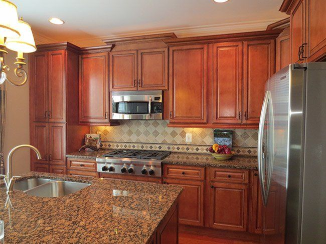 Sienna Rope Kitchen Cabinets  Meyer  Kitchen  Dining Room Magnificent Kitchen Cabinet Color Design Decorating Design