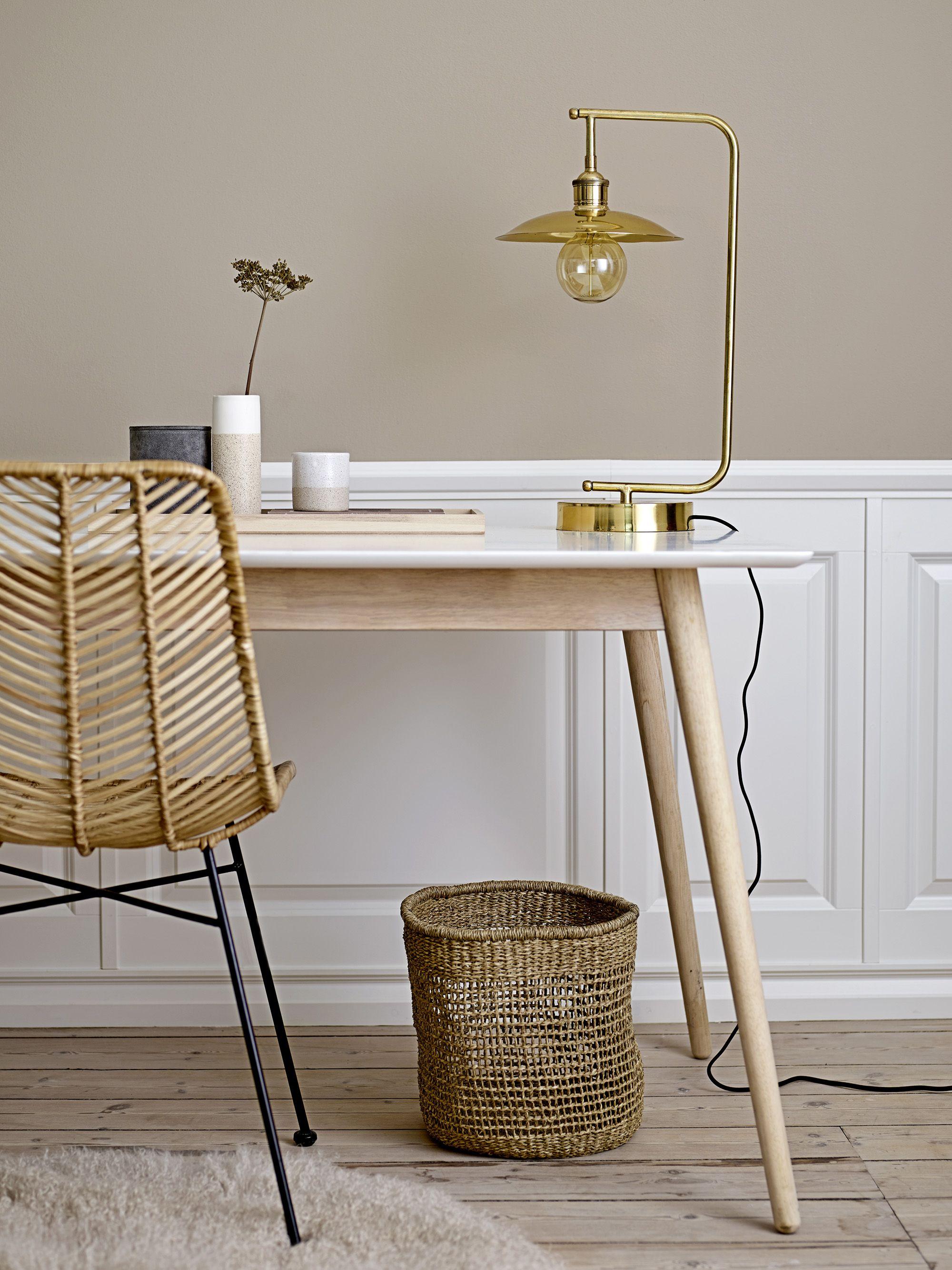 Golden lamp 3 Design by Bloomingville