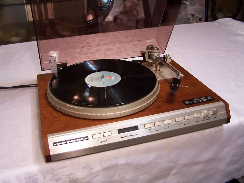 Marantz 6370Q Stereo Turntable