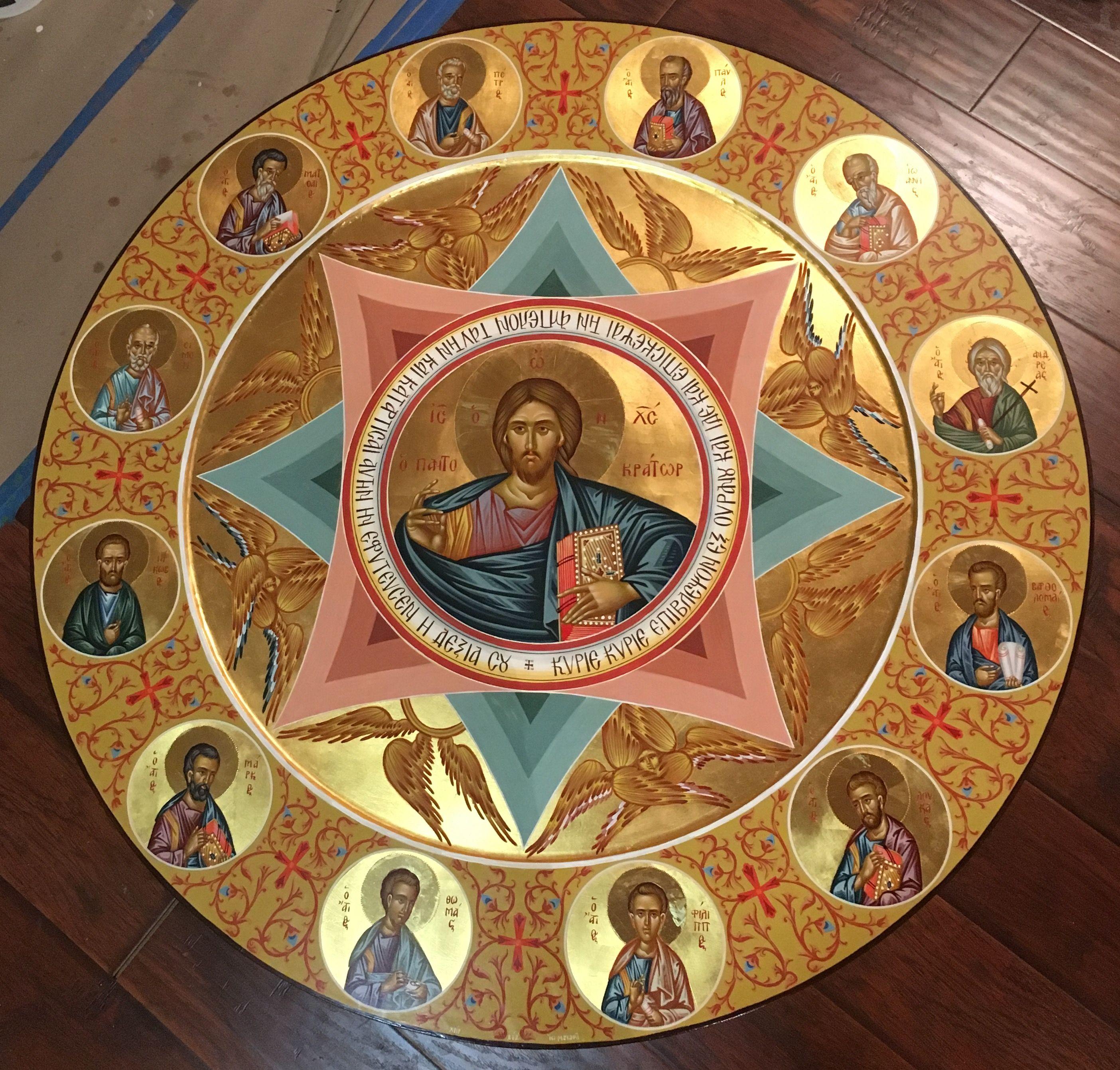 Epingle Par Hagenstein Sur Icones En 2020 Painting Peinture Christ