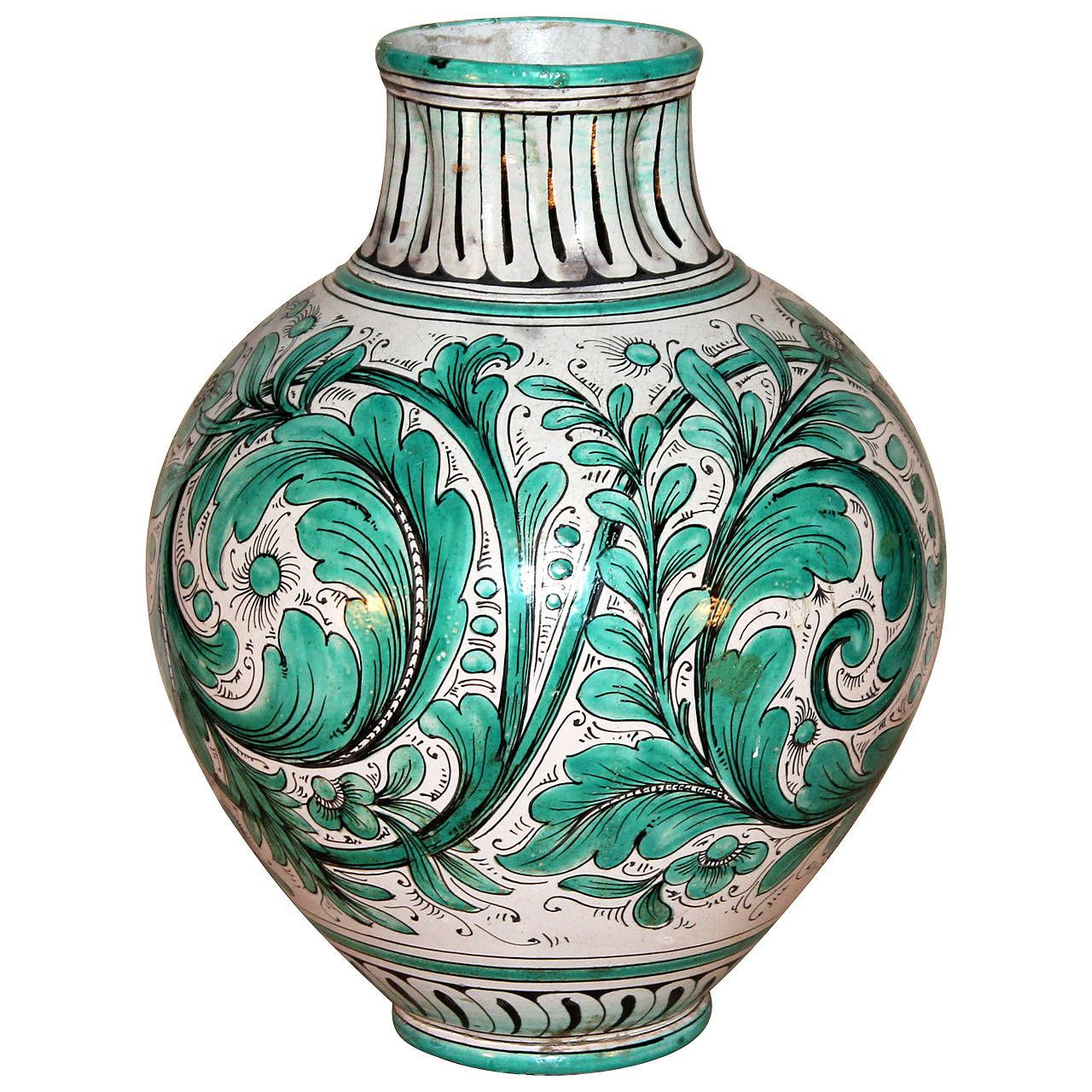 Italian vases antique best vase decoration 2018 antique italian art nouveau vase pitcher home decor reviewsmspy