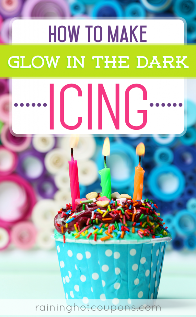 How To Make Glow In The Dark Icing