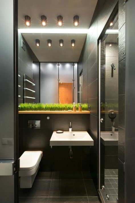 Contemporary 40 Square Meter 430 Square Feet Apartment  Square Adorable 40 Sq Ft Bathroom Design 2018
