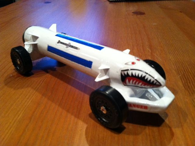 Shark Design To Use For Space Derby Cub Scouts Pinterest