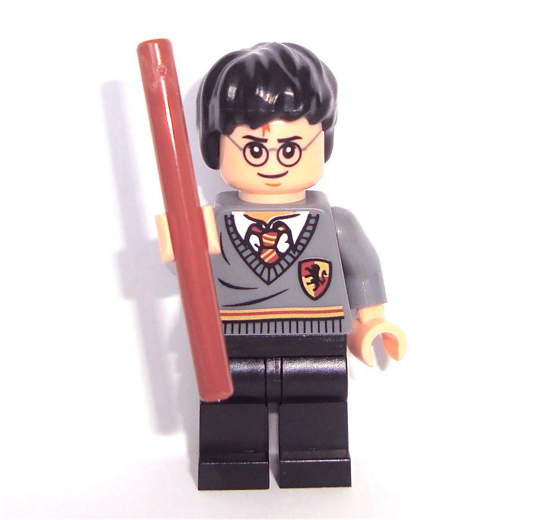 Lego Harry Potter Minifigure With Wand Lego Lego Figurine Lego Harry Potter